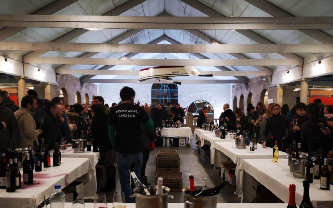 Beber do país: O túnel do viño da AGV pasou por Pontevedra