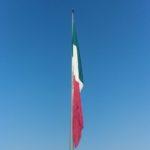Bandeira México no Zócalo