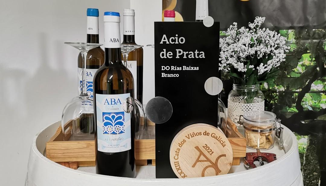 Aba de Trasumia 2020 Acio de Prata na XXXIII Cata dos viños de Galicia